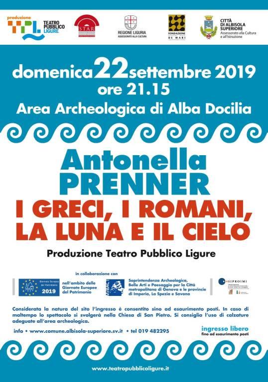 Antonella Prenner Odissea Albisola 2019