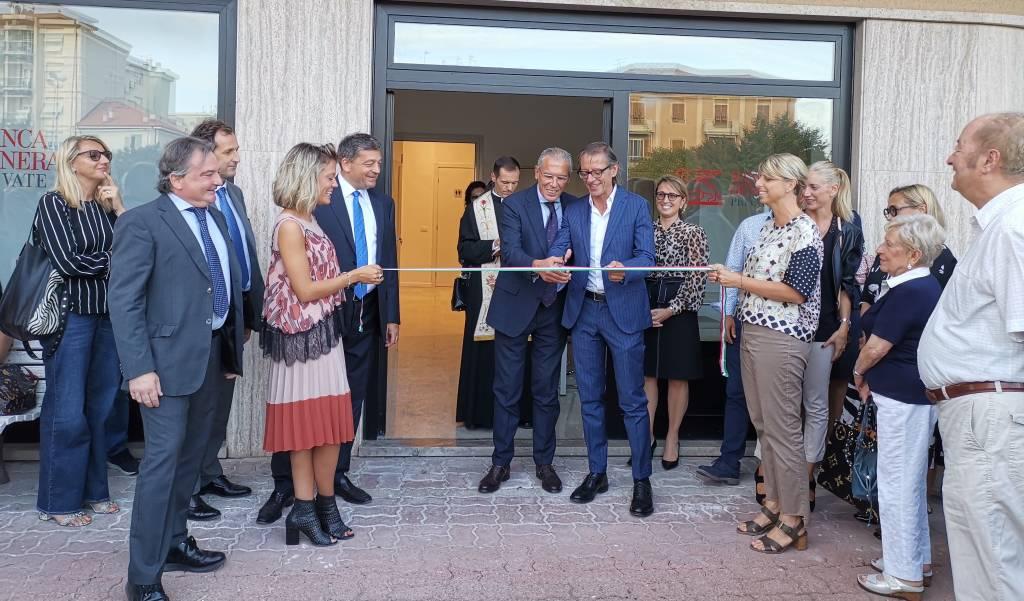 inaugurazione banca generali private albenga