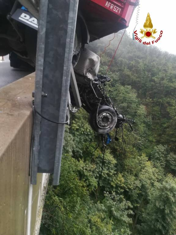 Incidente Camion Altare A6