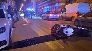 incidente moto via Fillak