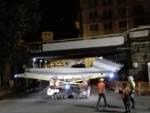 Nuovo ponte, a Sampierdarena transito eccezionale