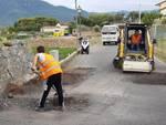 Raffica di interventi di manutenzione ad Albenga
