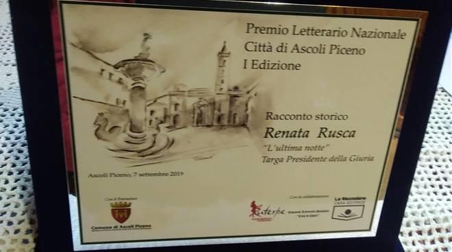 Renata Rusca Zargar premio