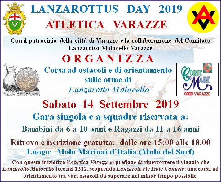 Sulle orme di Lanzarotto Malocello con l'Atletica Varazze
