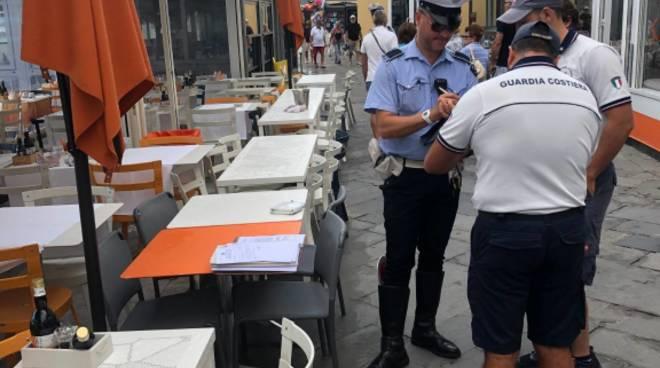 Sequestro Municipale Alassio Passeggiata