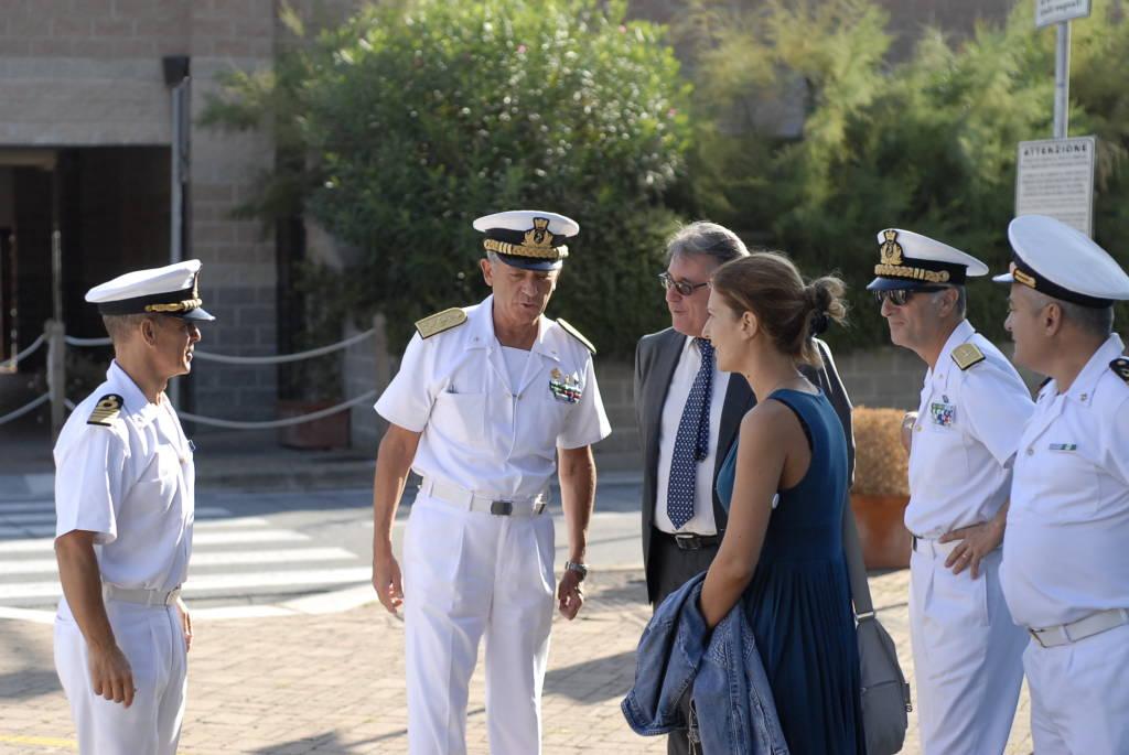 Capitaneria Guardia Costiera Giovanni Pettorino Visita Varazze
