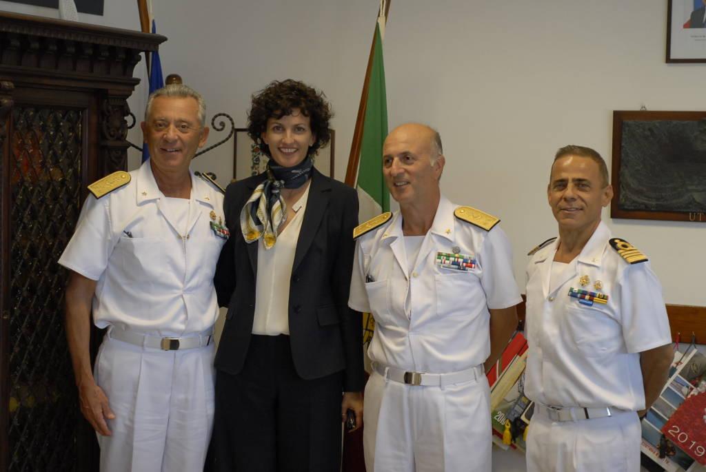 Capitaneria Guardia Costiera Giovanni Pettorino Visita Savona