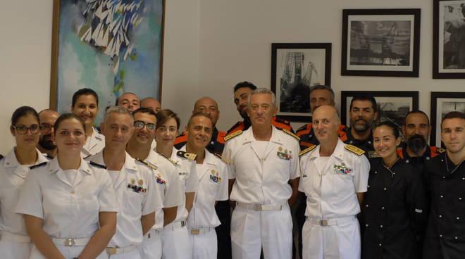 Capitaneria Guardia Costiera Giovanni Pettorino Visita Finale