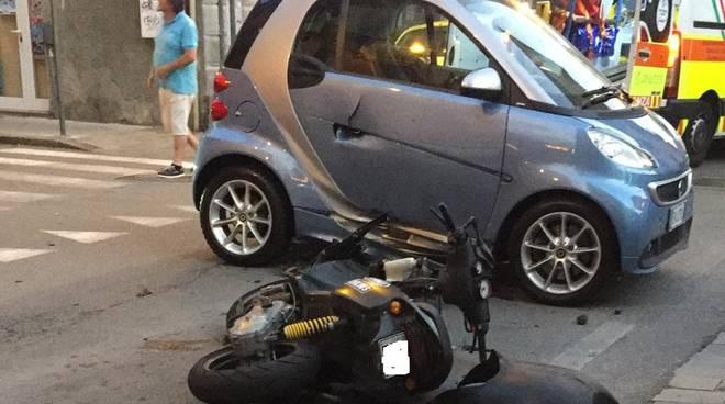 Incidente Via Piave Savona