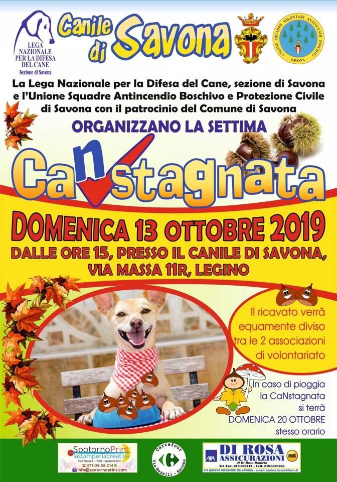 """Al canile di Savona torna la """"CaNstagnata"""""""