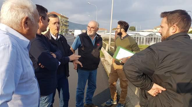 Albenga, al via l'intervento per la messa in sicurezza del Rio Antognano