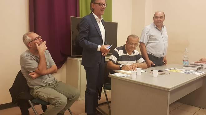 Albenga, incontro con Giovanni Impastato