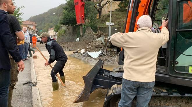 Alluvione a Campo Ligure