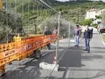 Andora, al via i lavori di messa in sicurezza della strada comunale della frazione di Conna