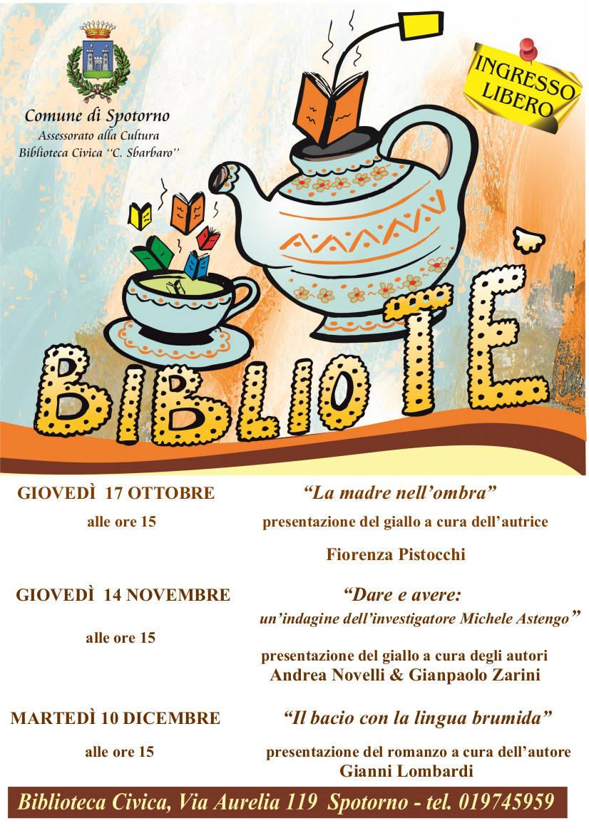 """""""Bibliotè"""" 2019 Biblioteca Civica Spotorno"""