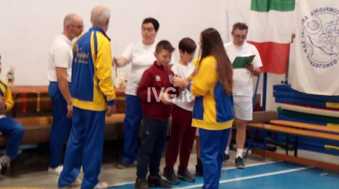 """Gara arco giovanile \""""Trofeo dell\'amicizia\"""" S. Bartolomeo 26 Nov."""