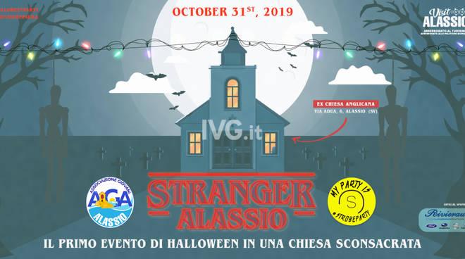 Halloween nella Chiesa Sconsacrata di Alassio