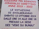 Rinnovo Consiglio direttivo della Società Filarmonica di Finalborgo – anni 2019/2022
