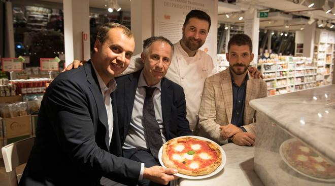 Al Porto Antico la Pizza Eataly aiuta il Gaslini