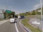 casello savona uscita a10 autostrada complanare