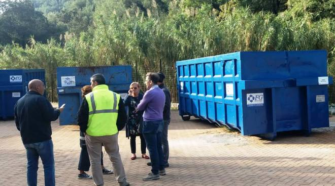 centro rifiuti borgio