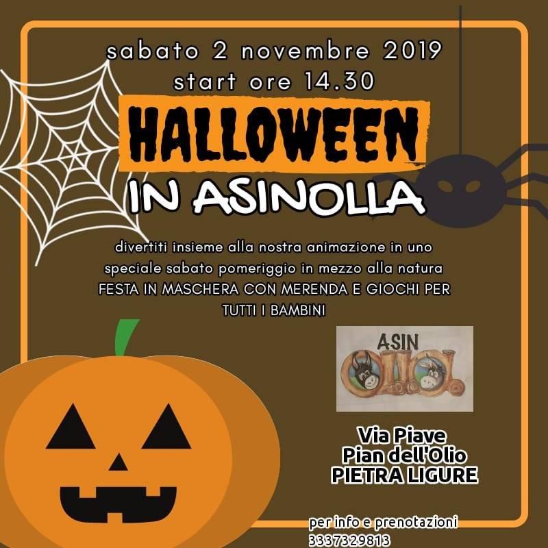 Halloween 2019 Pietra Ligure Parco AsinOlla