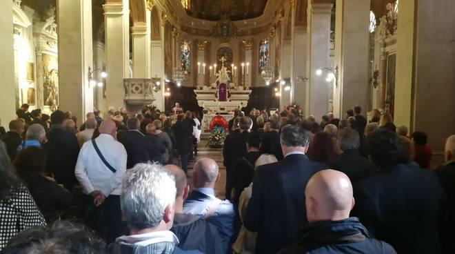 Funerale Pierangelo Massa