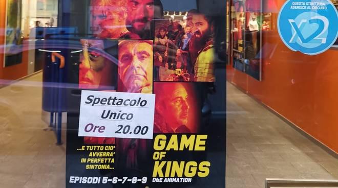 game of kings savona cinema Diana
