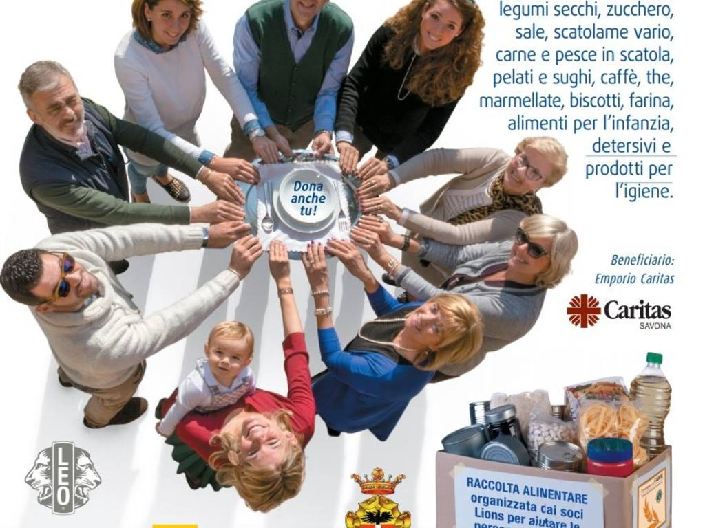 Colletta Alimentare Lions Club Priamar Savona