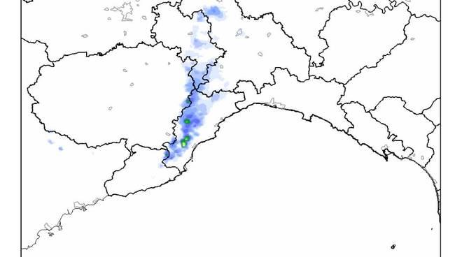Allerta Meteo 20 ottobre Precipitazioni