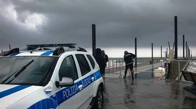 Allerta Meteo Polizia Municipale Alassio
