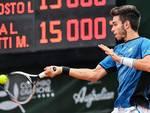 I giocatori del Park Tennis Club Genova nel primo incontro della Serie A1