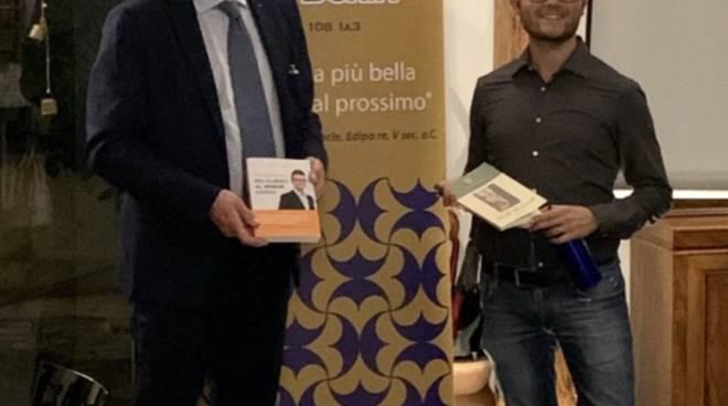 Il presidente del Lions Club Loano Doria, dott. Giacomo Piccinini e il dott. Andra Pruiti