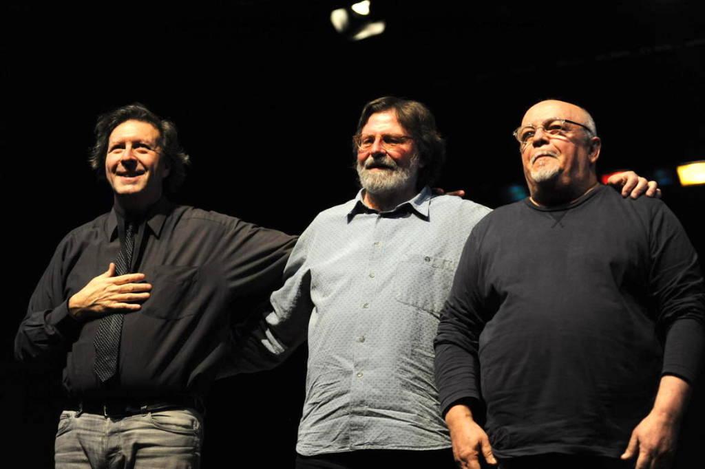Mario Arcari, Giorgio Cordini, Ellade Bandini musicisti