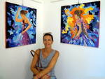 Mostra pittura Paola Defilippi Gallery Malocello Varazze