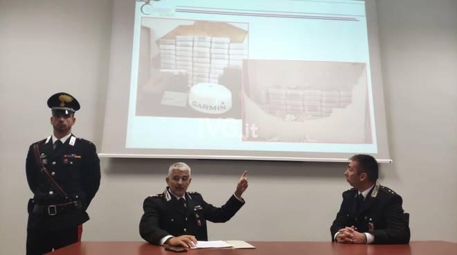 """Operazione """"The Wall"""", i carabinieri presentano i risultati"""
