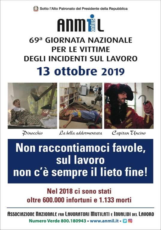 Savona, l'Anmil celebra la 69ª giornata nazionale per le vittime degli incidenti sul lavoro