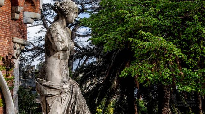 venere castello d'albertis, statua