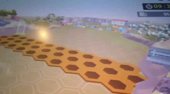 video gioco spazio ponte