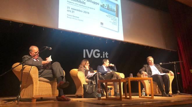 """A Borgio Verezzi l'incontro """"Sussidiarietà e… PMI per lo sviluppo sostenibile"""""""