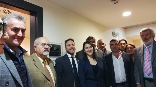 A Eugenio Montale Sala Ufficio Presidenza Regione Liguria