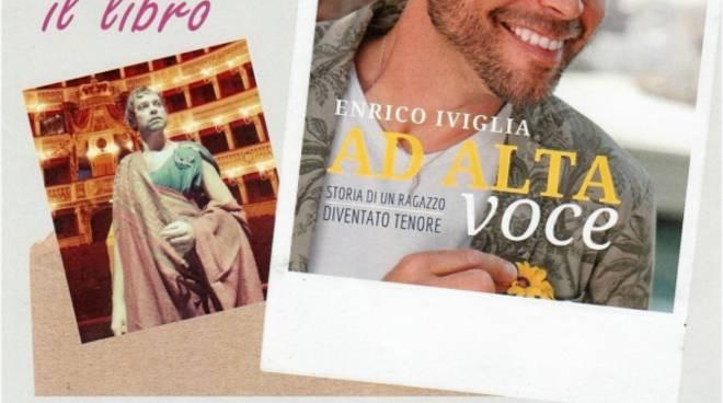 """""""Ad alta voce"""" libro tenore Enrico Iviglia Altare"""