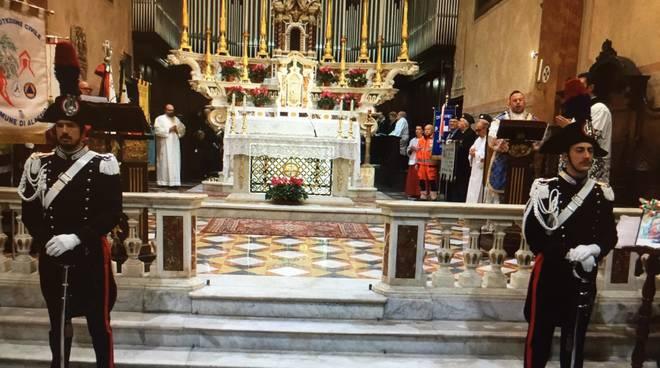 Alassio, nella chiesa di Sant'Ambrogio la commemorazione della Virgo Fidelis