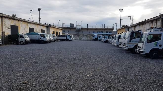 Albenga, ecco il nuovo centro di raccolta Sat