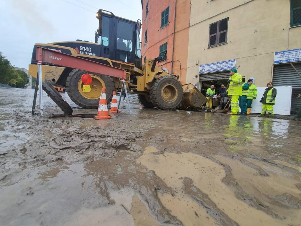 Alluvione a Fegino, commercianti in ginocchio
