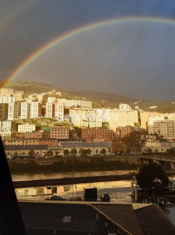 arcobaleno a Genova