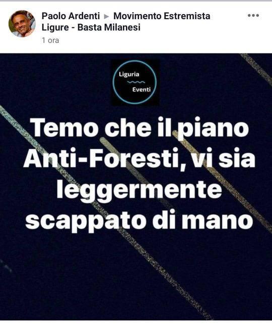 Ardenti Lega ironia foresti