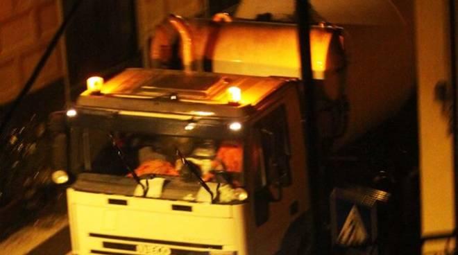 betoniere notte