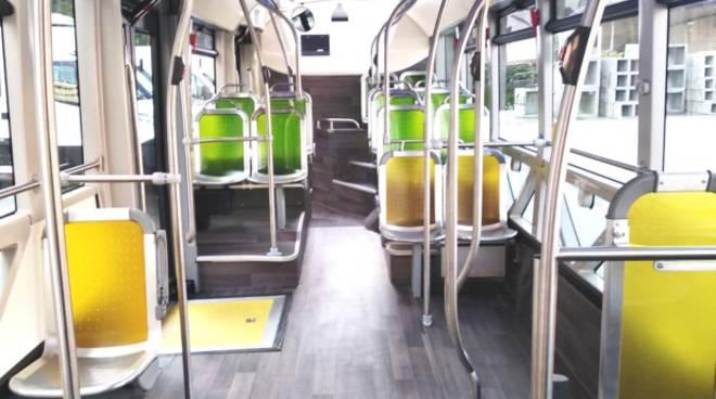 bus elettrico recco