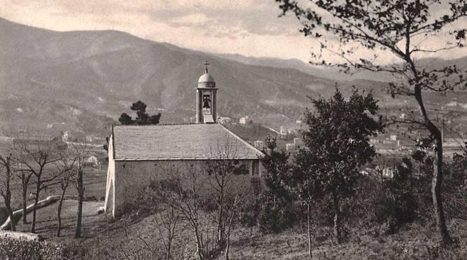 Cappella San Genesio Vado Ligure foto storica